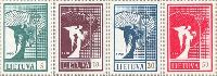 Definitives, Angels, 4v; 5, 10, 20, 50k