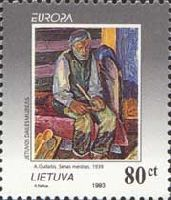 EUROPA'93, Painting, 1v; 80ct
