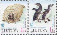 Фауна, Морские животные, 2м; 1.0 Лит x 2