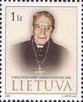 Кардинал В.Сладкевичюс, 1м; 1.0 Лит