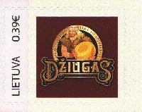 """Собственная марка, Сыр """"Джюгас"""", самоклейка, 1м; 0.39 Евро"""
