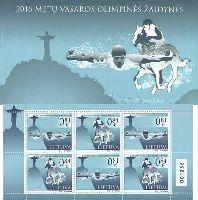 Олимпийские игры в Рио-де-Жанейро'16, буклет из 3 серий