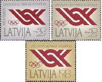 Latvian National olimpic commitee, 3v; 50+25, 50+25, 100+50k