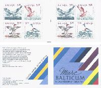Mare Balticum, Birds, Booklet of 2 sets