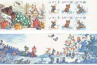 Детские книги, буклет из 6м + купона; 5c x 2, 10с x 4