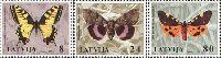 Fauna, Butterflies, 3v; 8, 24, 80s
