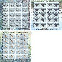 Фауна, Птицы, 3 М/Л из 20 серий