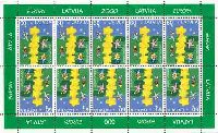 ЕВРОПА'2000, М/Л из 10м; 60c x 10