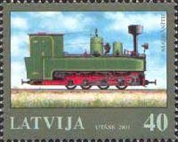 Железная дорога в Латвии, 1м; 40c