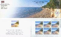 Прибалтийские ландшафты, буклет из 6м; 15c x 6