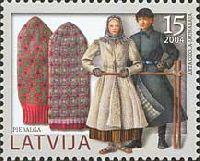 Национальные одежды, Варежки, 1м; 15с