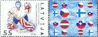 Чемпионат мира по хоккею с шайбой, Ригa'06, 1м + купон; 55c