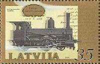История Латвииской железной дороги, 1м; 35с