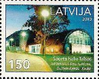 Современное спортивоное сооружение в Талси, 1м; 150с