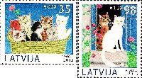 Домашние животные, Кошки, 2м; 35, 98с