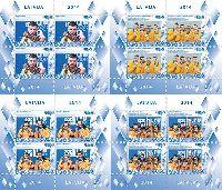 Латвийские спортсмены - призеры Олимпиады в Сочи'14, 4 М/Л из 4 серий