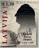 Латышская литература, Готхард Фридрих Стендер, 1м; 1.39 Евро