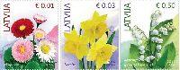 Стандарты, Цветы, 3м; 0.01, 0.03. 0.50 Евро