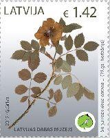 Латвийский музей природоведения, 1м; 1.42 Евро