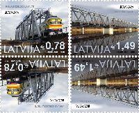 ЕВРОПА'18, тет-беш, 4м; 0.78, 1.49 Евро х 2