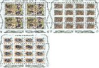 WWF, Змеи, 3 М/Л из 16м; 3, 15, 25 руб х 16