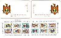 Princes of Moldavia, 1st set, Booklet of 2 sets