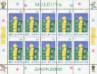 ЕВРОПА'2000, М/Л из 10м; 3.0 Лей x 10