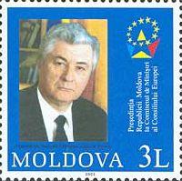 Совет Европы, Президент Молдовы Владимир Воронин, 1м; 3.0 Лея