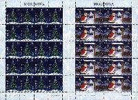 Рождество'07, М/Л из 20м + М/Л из 10м; 1.0 Лей x 20, 4.50 Лей x 10