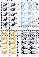 Фауна, Голуби, 4 M/Л из 10 серий