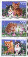 Фауна, Котята, 3м и купон в сцепке; 900 руб х 3