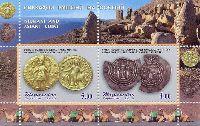 Старинные монеты, блок из 2м; 4.0, 5.0 С