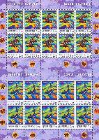 Восточный лунный календарь, 2 М/Л из 10 серий