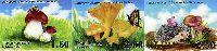 Флора, Грибы, 3м беззубцовые; 1.60, 2.0, 2.50 C