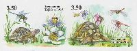 Фауна, Черепахи, 2м в сцепке беззубцовые; 3.50 C х 2