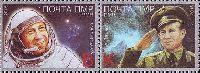 """50 лет первому выходу человека в открытый космос, 2м в сцепке; """"К"""", """"B"""""""
