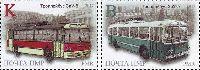 """Троллейбус в Тирасполе, 2м; """"K"""", """"B"""""""