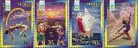 ОИ в Сиднее'2000, 4м; 30 коп x 2, 70 коп, 1.0 Гр