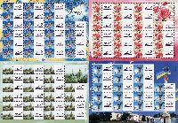 Собственные марки, М/Л из 18м и 19 купонов + 3 М/Л из 22м и 23 купонов; 70 коп х 84