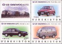 Автомобили UZ DAEWOO, 3м + купон; 9, 12, 15 Сум